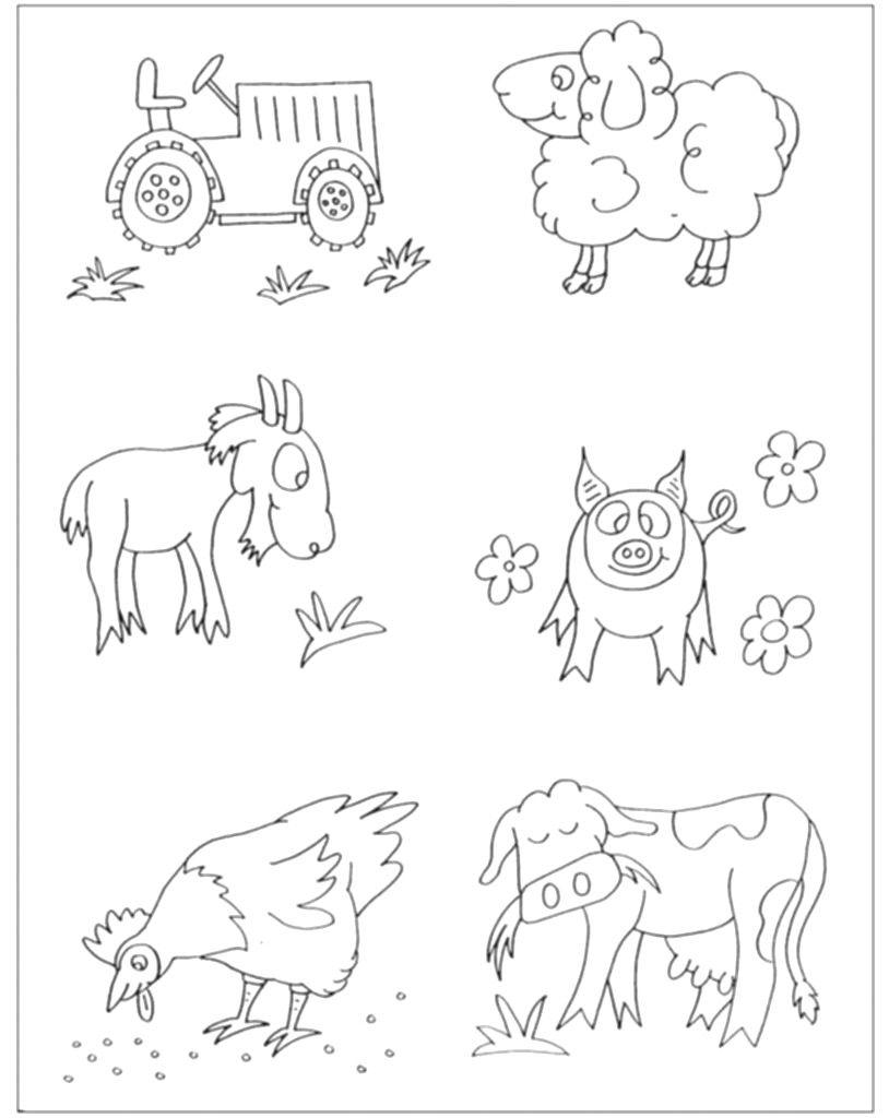 Animali Della Fattoria Da Colorare Home Design Partner Avec Disegni Da Colorare Animali Della Fattoria Grat Arte Animale Progetti Artistici Per Bambini Animali