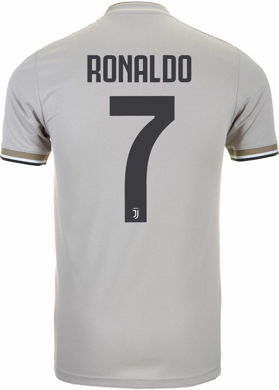 online retailer 982c9 19e56 2018/19 adidas Cristiano Ronaldo Juventus Away Jersey ...