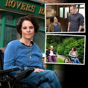 Cherylee Houston makes history as Coronation Street's first disabled actress