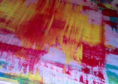 R. Marinho Abstract 8x10 inches painting on canvas #art