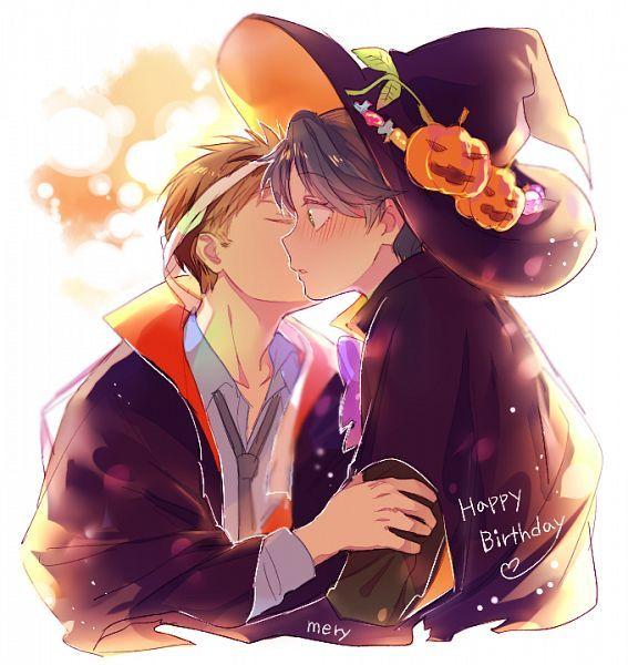 Halloween Anime Couple Gekkan Shoujo Nozaki Kun Halloween Anime