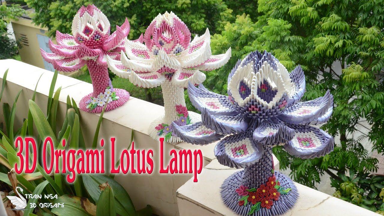 3d origami lotus lamp collection paper lotus lamp 3d origami lotus lamp collection paper lotus lamp izmirmasajfo