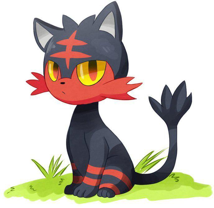 Pokémon Soleil Et Lunesun And Moon Flamiaoulitten
