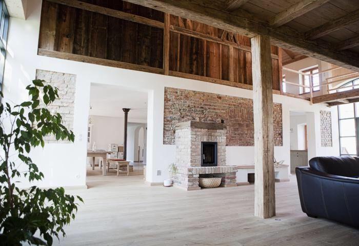 Galerie mit Steg Bauernhaus Pinterest Bauernhaus, Wohnideen - geraumige und helle loft wohnung im herzen der grosstadt