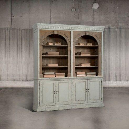 libreria con archi