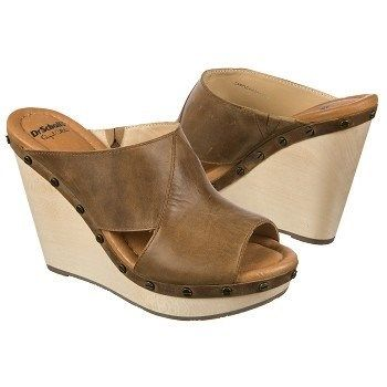 Slip into style with the Farida open toe wedge sandal from the Dr. Scholls  Original