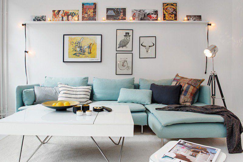 Déco salon scandinave - astuces design et idées élégantes | Salons ...