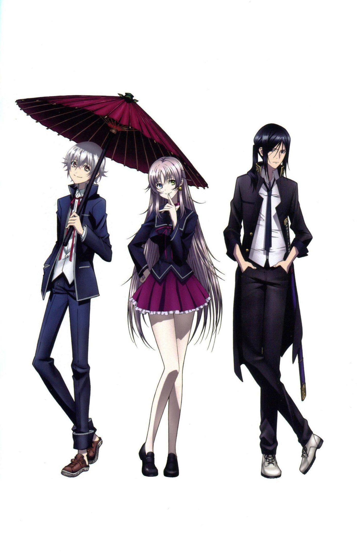 Shiro, Neko and Kuroh K project, K project anime, Anime