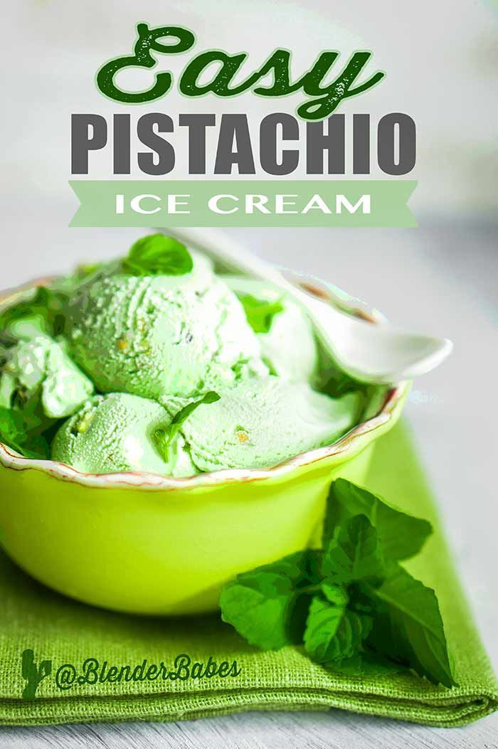 our FREE Green Smoothie Challenge! HEALTHY EASY PISTACHIO ICE CREAM RECIPE This is a quick and healthypistachio ice cream recipe that will please all the members of your family! The pistachio-almondice cream flavor goes perfectly togetherand the consistency is slightly lighter than regular ice cream. Avocado is the...