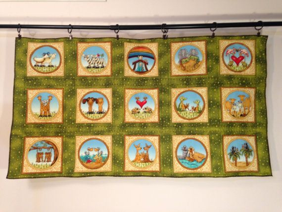 Baby Quilts for Sale Noah\'s Ark Wall Hanging Tapestry | Wall ...