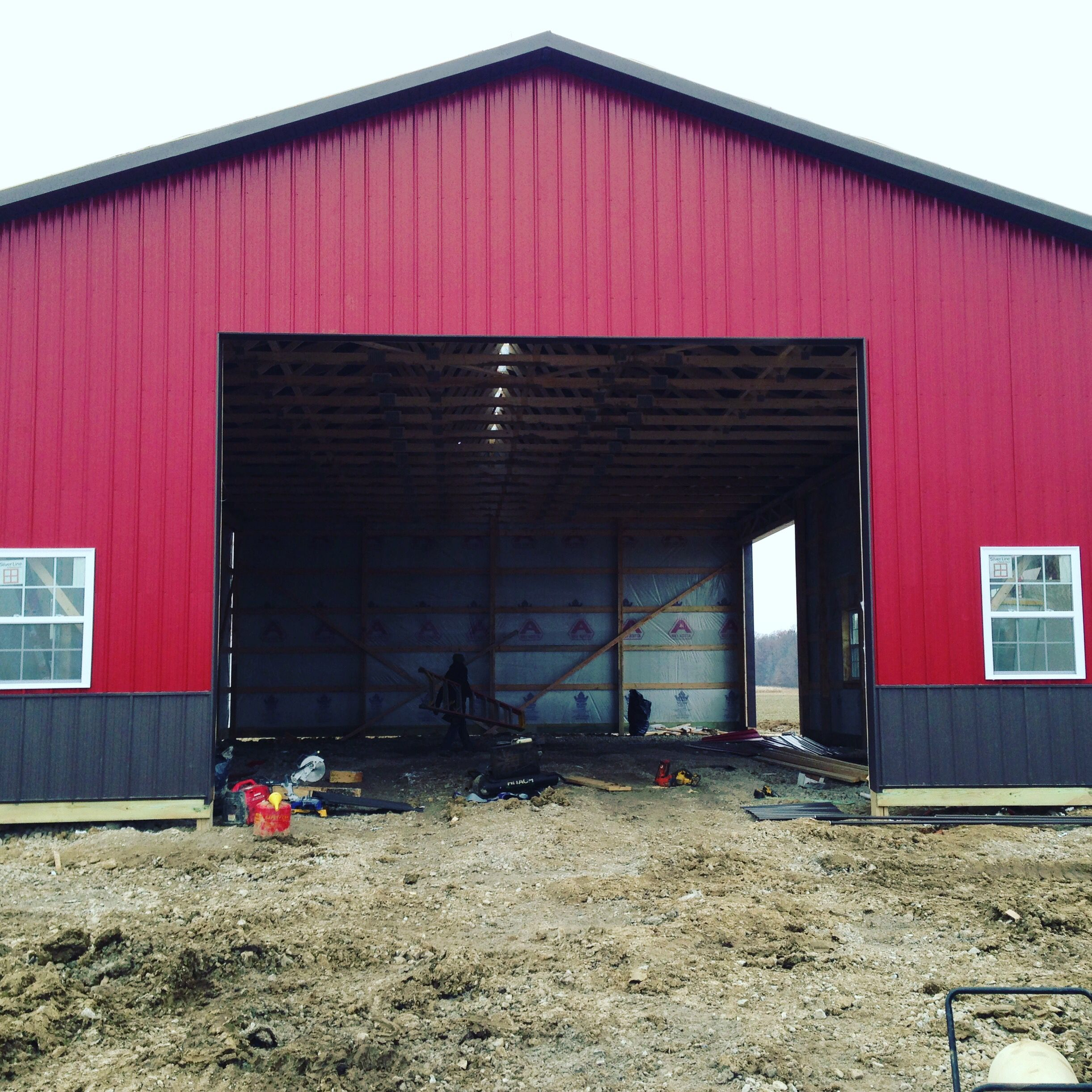Park Art|My WordPress Blog_How To Frame A Garage Door In A Pole Barn
