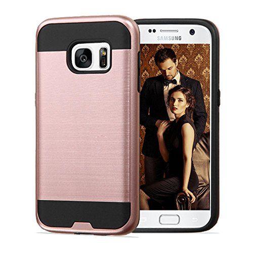 Samsung Galaxy S7 Case Jojogoldstar Brushed Design Hybri Https Www Amazon Com Dp B01bul1r3q Ref Cm Sw R Pi Samsung Galaxy S7 Cases Samsung Galaxy S7 Case