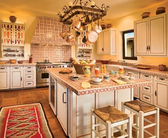 Spanish Kitchen Decorating Old California Spanish Revival