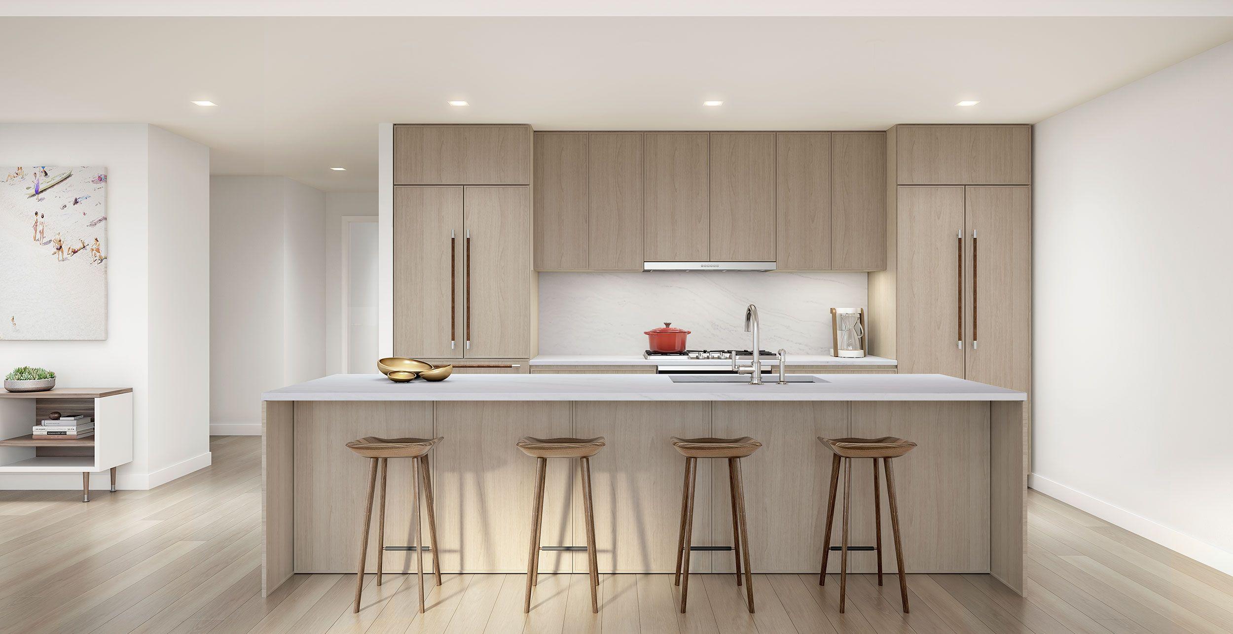 kitchens boast italian custom cabinetry with refined