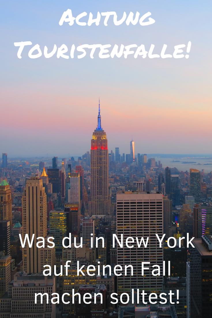 Touristenfallen in New York City