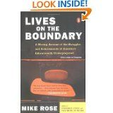 lives on the boundary by Mike Rose