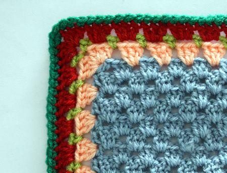 Granny ribete de la raya: un tutorial | crochet | Pinterest | Rayas ...