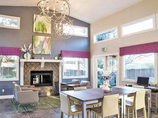 Latitude At Everett Clubhouse And Leasing Everett Wa Club House Interior Architecture Interior Design