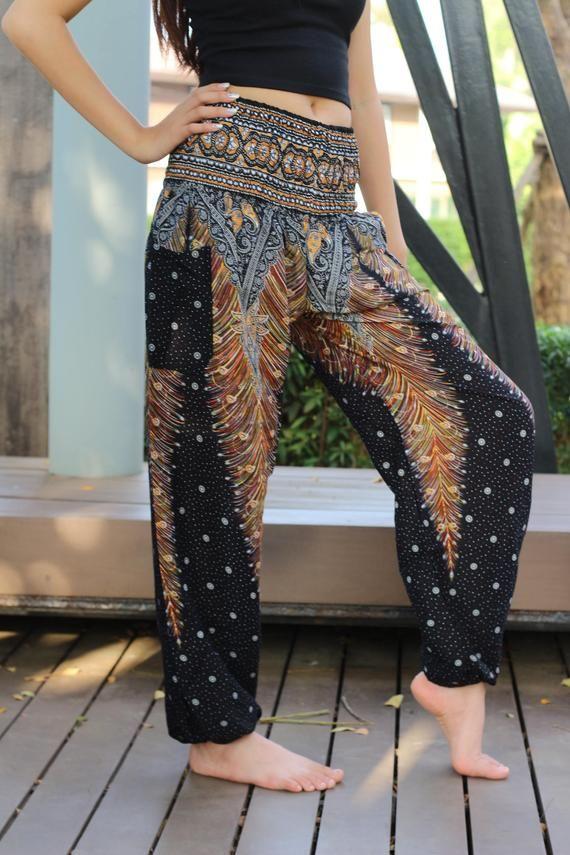 Unisex Harem Hose Hippie Hose Yoga Hose Hippie Kleidung ...