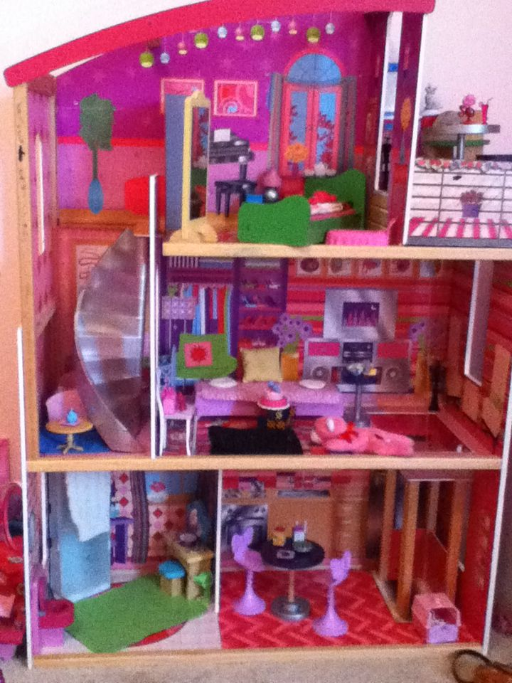 Biggest Barbie Doll House Ever Extras Pinterest Barbie