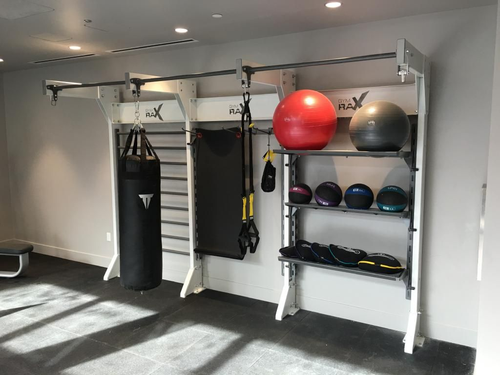 Delicieux Organized Gym Storage For Accessible Functional Accessories. #gymdesign  #gymraxu2026