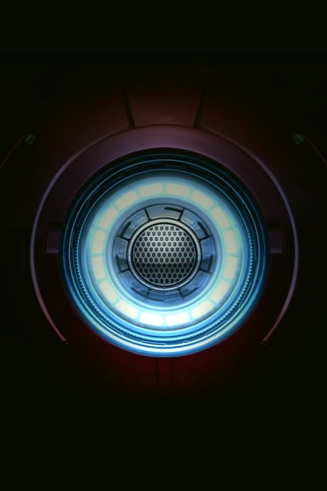 Awesome Phone Backgrounds Iron Man Arc Reactor Wallpaper