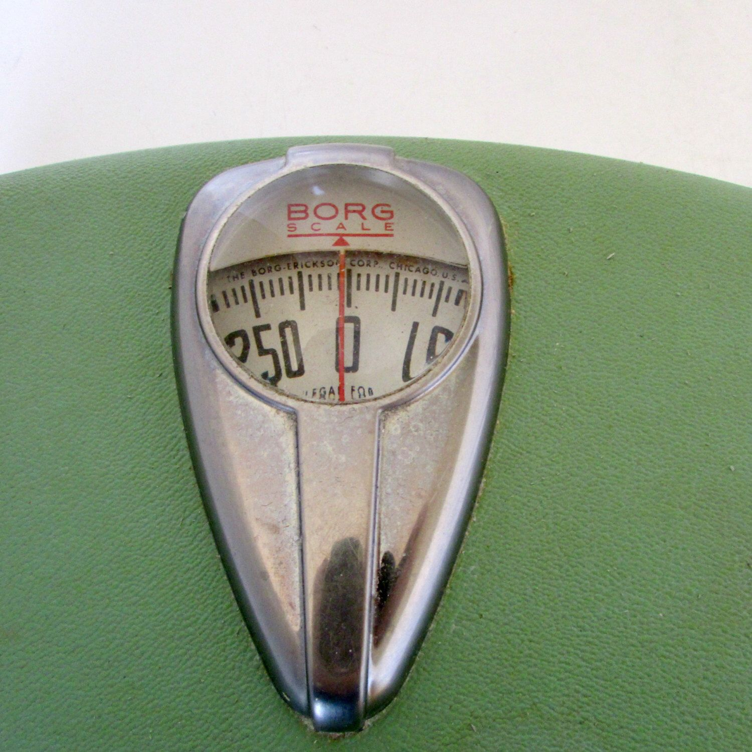 Vintage Bathroom Scale Borg 1940s Green Bath Decor Art Deco By Nanascottagehouse On Etsy Https