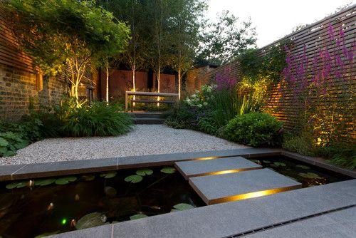 Hyde Vale Garden London John Davies Landscape With Images Contemporary Garden