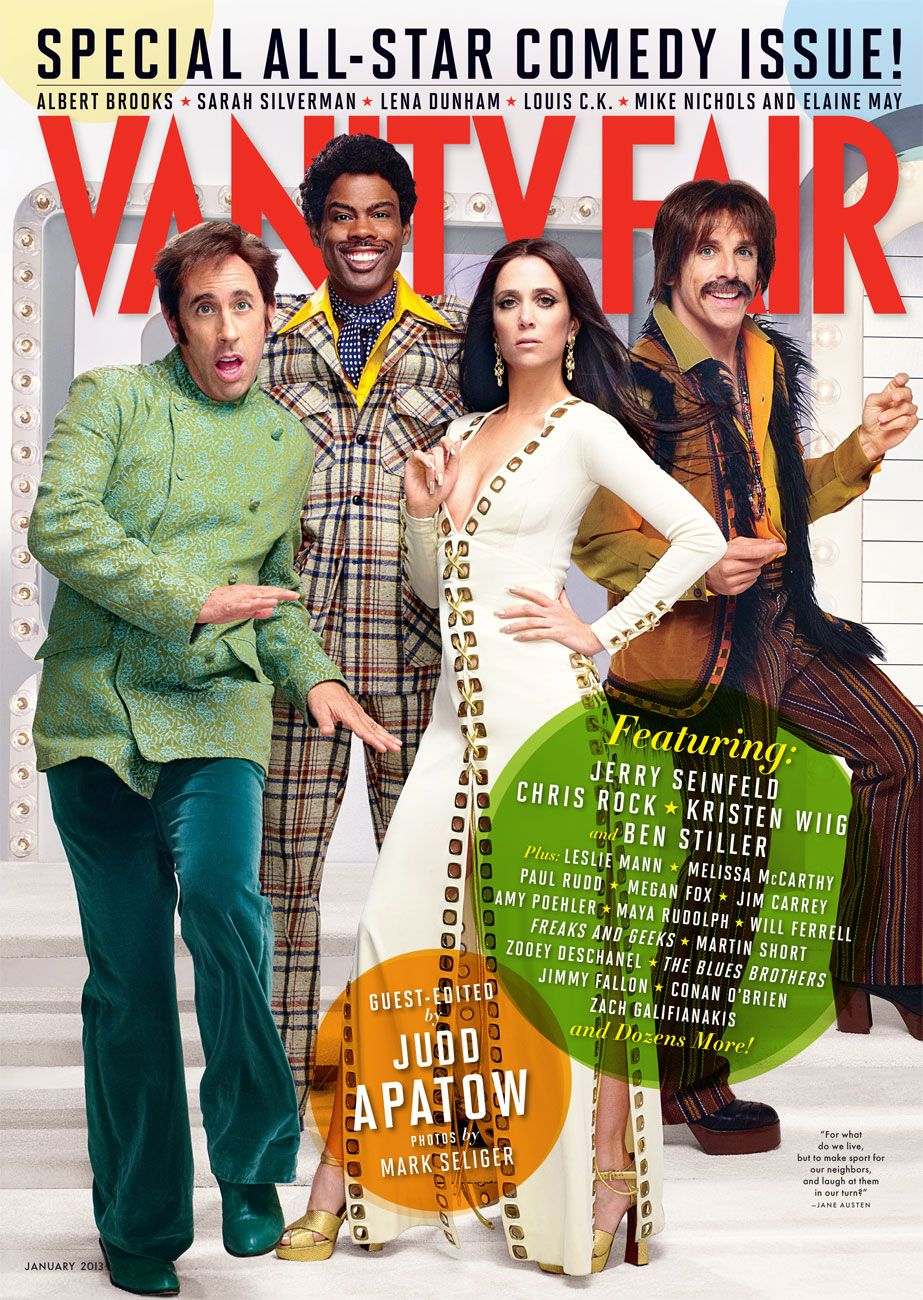 Vanity Fair\'s First-Ever Comedy Issue Guest-Edited by Judd Apatow ...