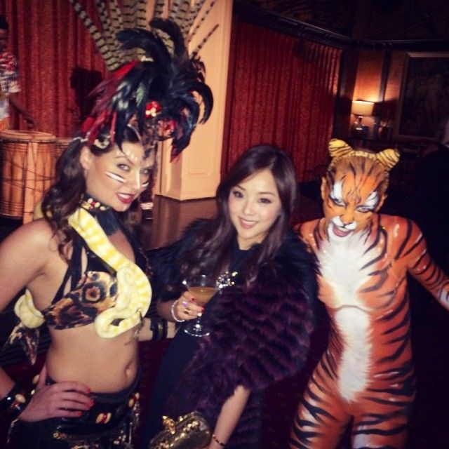 I'm with tiger woman and the snake!
