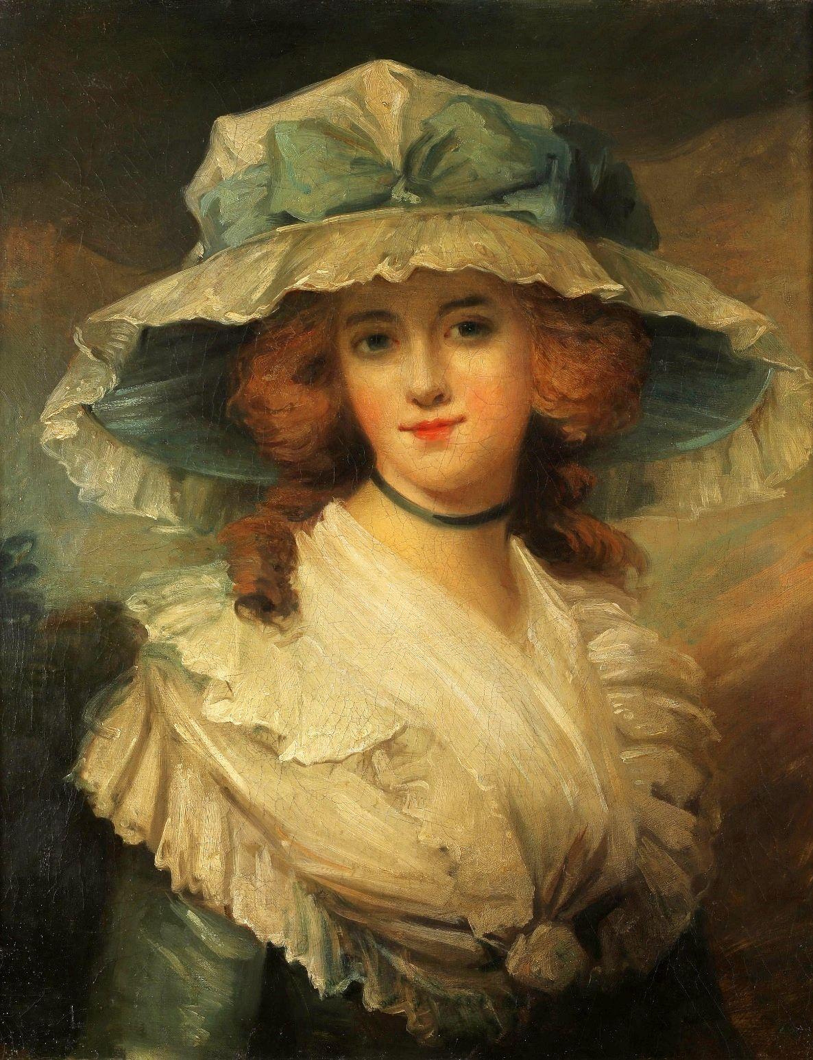 Portrait of a lady by George Romney, 4th quarter of the 18th century (PD-art/old), Zamek w Pieskowej Skale