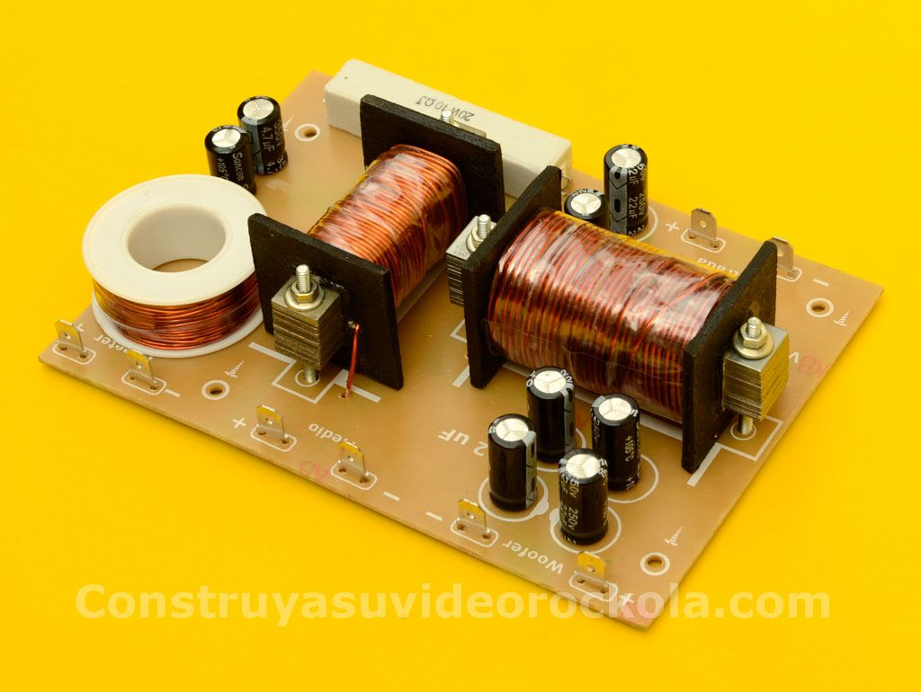 Construya Un Crossover De Tres Vias Segundo Orden Amplificator Variable Adjustable Dc Power Supply 12v 8211 25v Using Lm338k Pasivo Arduino Klipsch Speakers