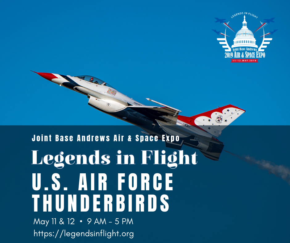 Headliners The U.S. Air Force Thunderbirds will take to