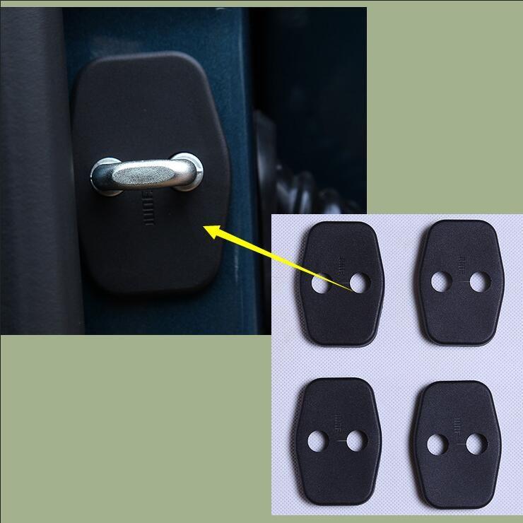 Lane Legend Case For Peugeot 5008 2017 Car Interior Door Lock Cover Protecting Cover Anti Corrosive 4pcs Doors Interior Car Set Interior Accessories