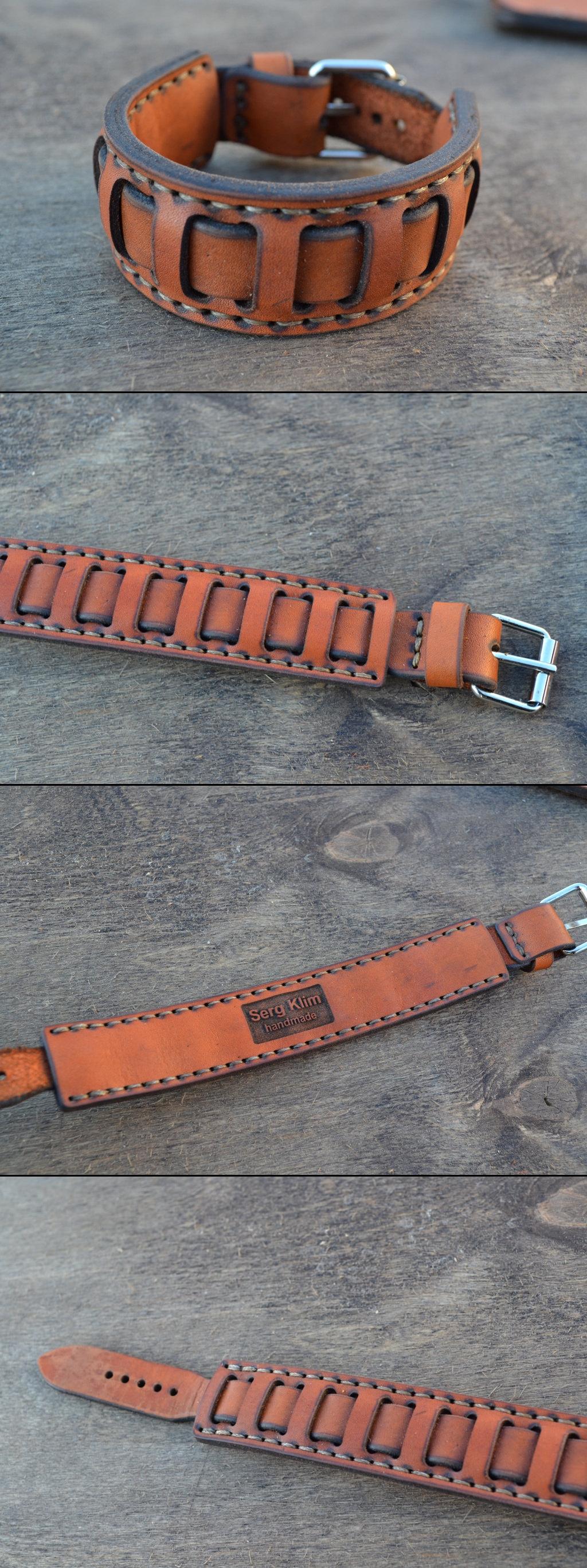 Leather braceletmen Кожаный мужской браслет cuoio pinterest