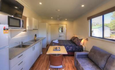 Kahlers Oasis studio unit, Living, dining and kitchen  #kahlersoasis