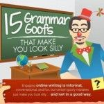 Grammar Mistakes That Make You Look Silly