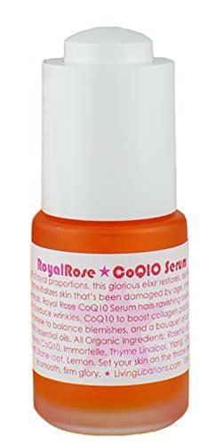 Living Libations  Organic  Wildcrafted Royal Rose CoQ10 Serum 5 oz  15 ml -- Want additional info? Click on the image.