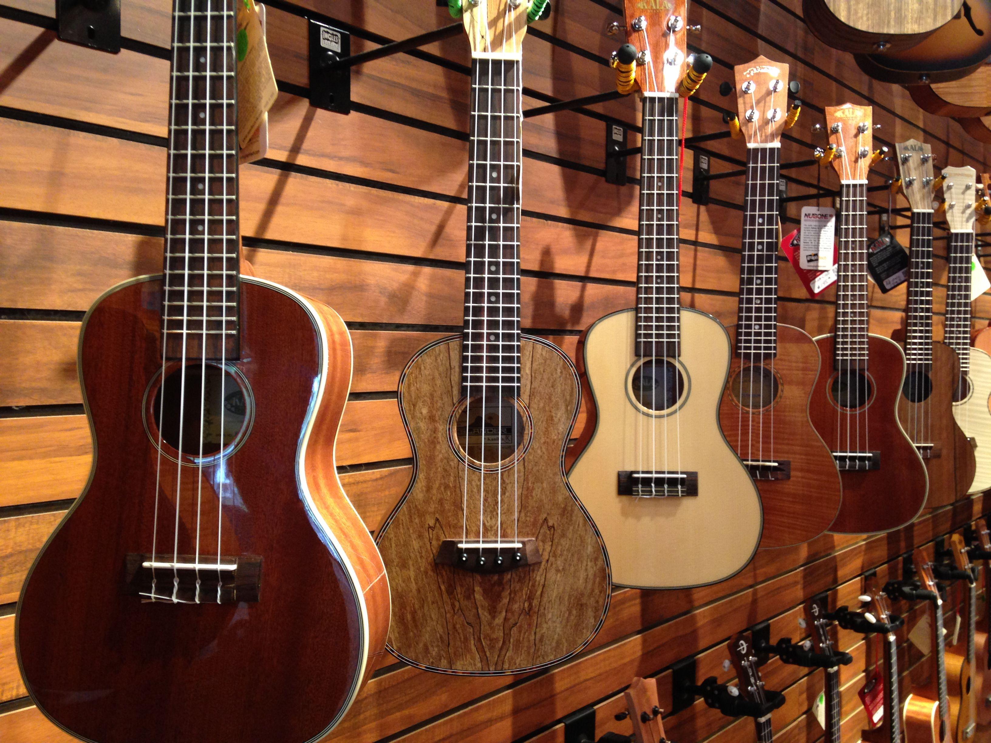 Take away your new ukulele skills with a new ukulele from
