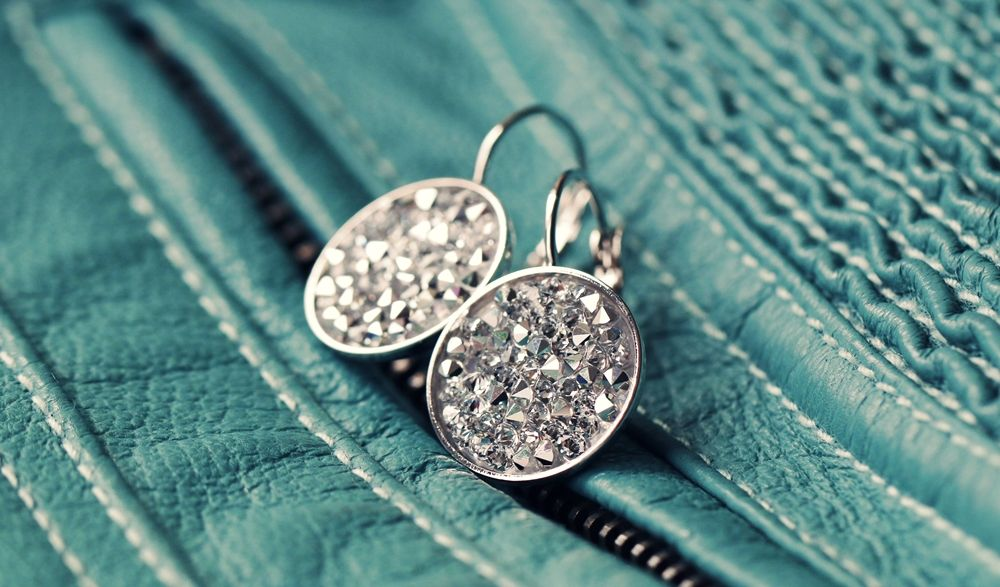 Vytvoř si náušnic s Crystal Rocks Swarovski Elements - DIY earrings with  Swarovski Elements Crystal Rocks  59c87d8c5d