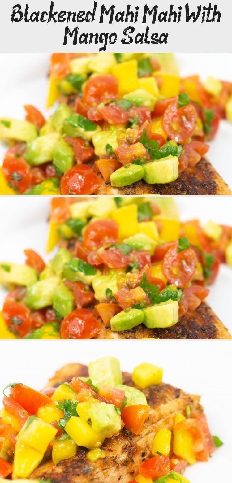 Blackened Mahi Mahi With Mango Salsa - Recipes 2020 in ...