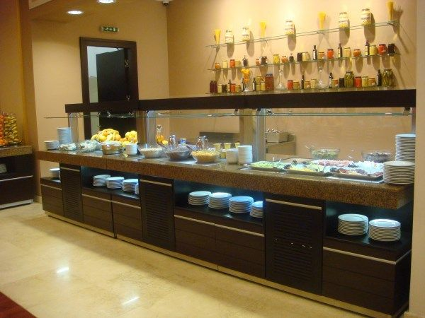 Nice Customize Long Hotel/restaurant Modern Furniture Buffet Table