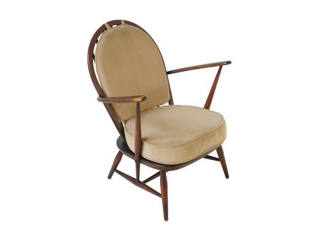 Fleur De Lys Back Armchair From Ercol 1960s For At Pamono