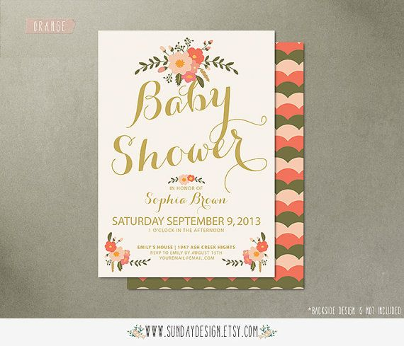 Printable afternoon tea baby shower invitation card diy floral printable afternoon tea baby shower invitation card diy floral printable party invitation card filmwisefo Choice Image