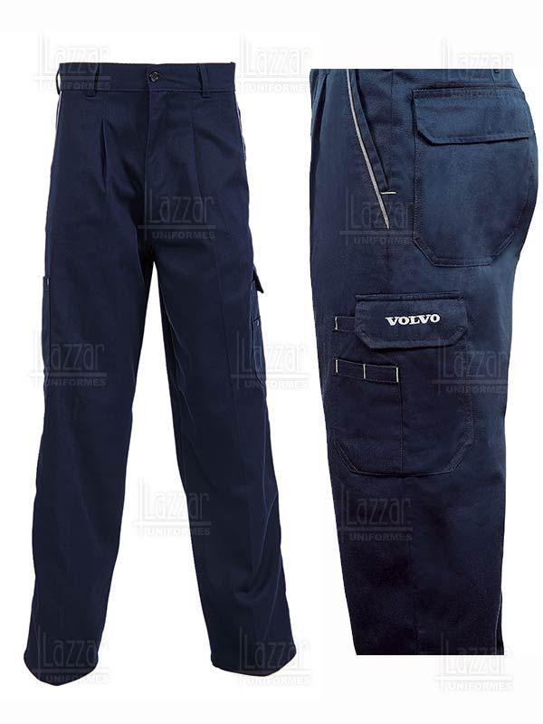 Pantalones Tipo Cargo Volvo Pantalones Tipo Cargo Pantalones De Trabajo Pantalones En Dril