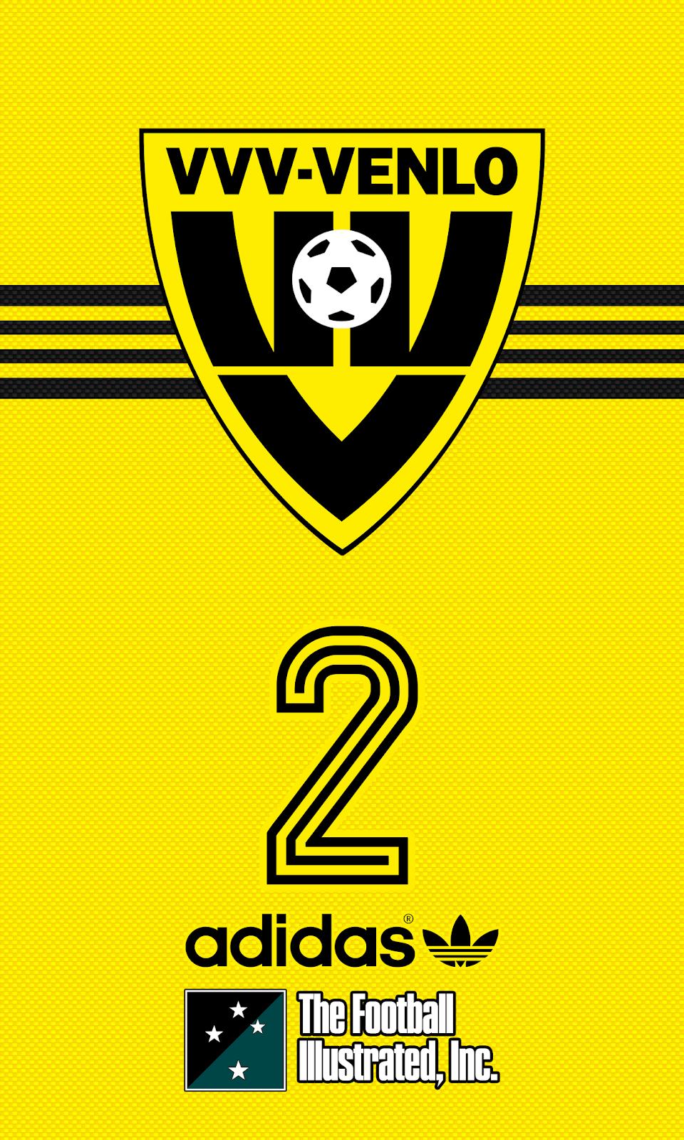 Wallpaper VVV Venlo Fútbol, Escudo, Fotos