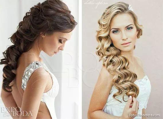 Lindos para una boda civil o por la iglesia peinados - Peinados elegantes para una boda ...