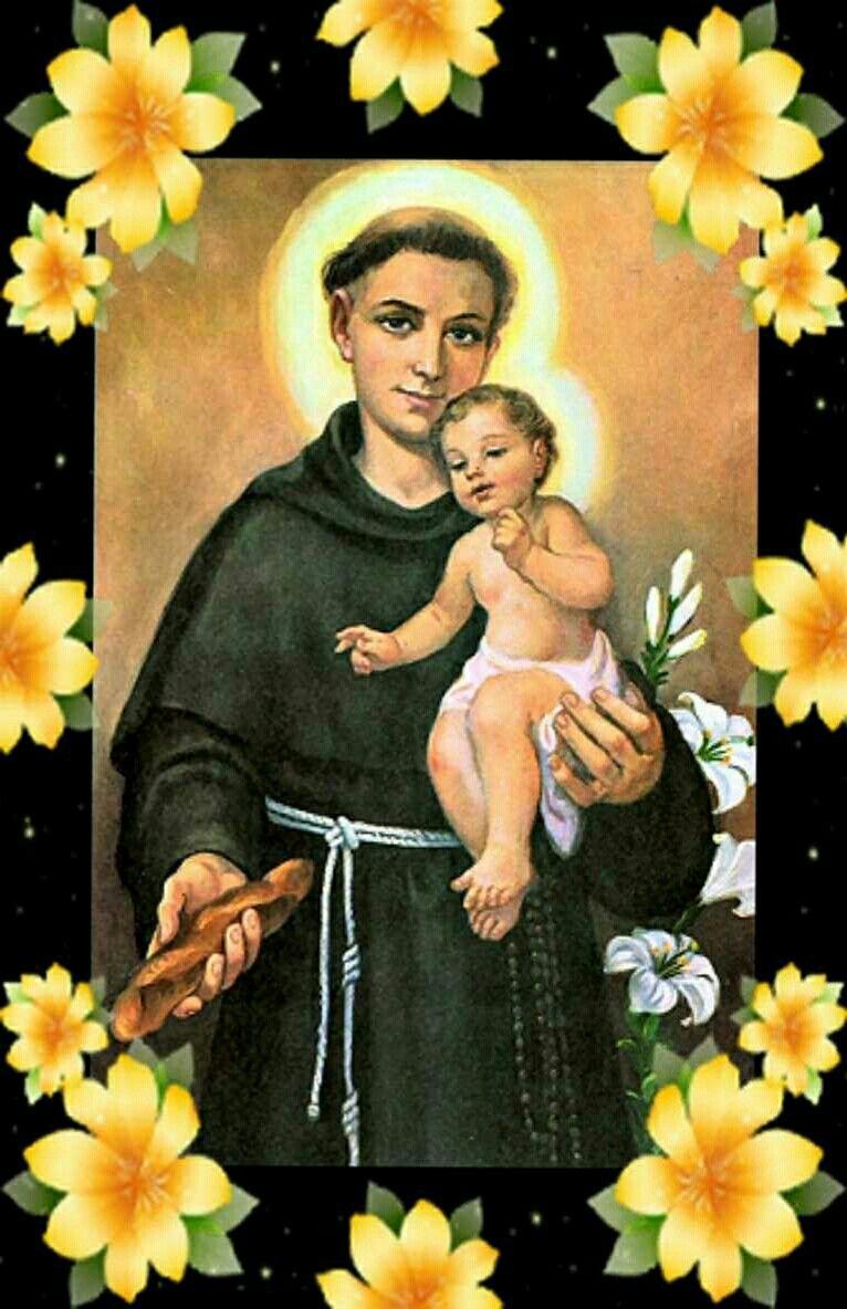 St.Anthony, pray for us.Amen