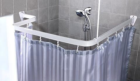 Bendable Shower Curtain Rod Shower Curtain Track Shower Curtain