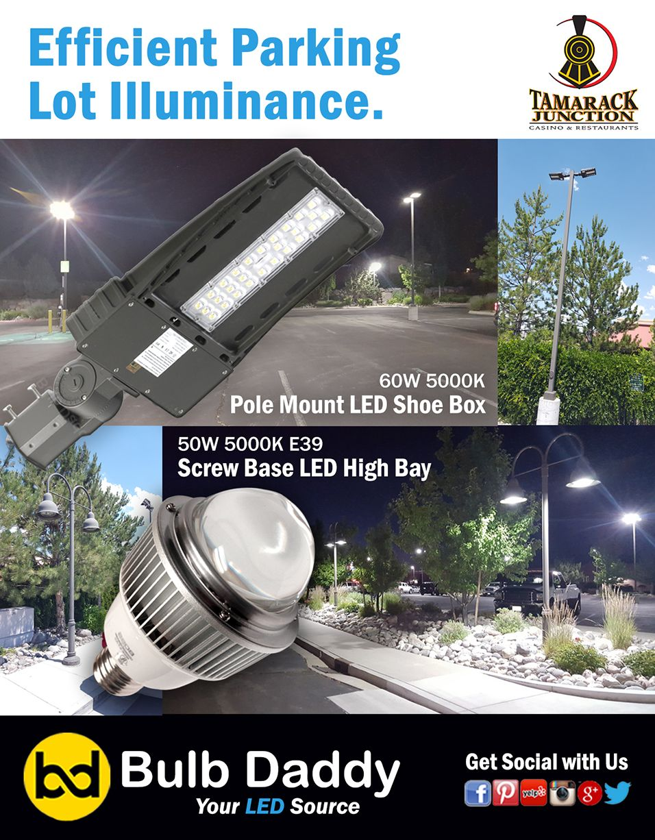 Pin By Bulb Daddy On Led Parking Lot Lights Led Parking Lot Lights Led Projects Led Technology